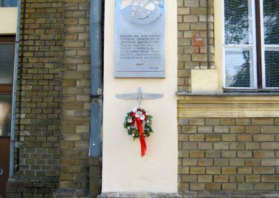 Szeged Mentőállomás - volt tűzoltó laktanya - II. világháborús emléktábla 2014.08.16. küldő-Emese (1)