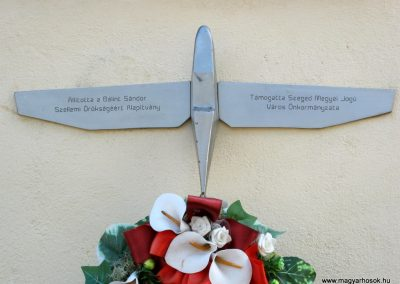 Szeged Mentőállomás - volt tűzoltó laktanya - II. világháborús emléktábla 2014.08.16. küldő-Emese (5)