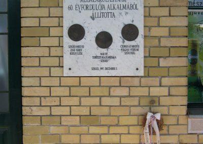 Szeged Nagyállomás II. világháborús emléktábla 2014.07.14. küldő-Emese (1)