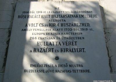 Szeged-Rókusi római katolikus templom I. világháborús emléktáblái 2014.07.06. küldő-Emese (3)
