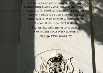 Szeged-Rókusi római katolikus templom I. világháborús emléktáblái 2014.07.06. küldő-Emese (6)