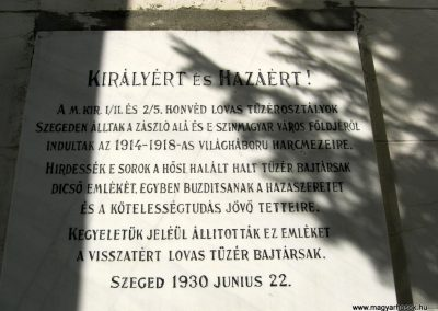 Szeged-Rókusi római katolikus templom I. világháborús emléktáblái 2014.07.06. küldő-Emese (7)