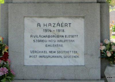 Szeged-Szőreg I. világháborús emlékmű 2011.04.30. küldő-Emese (3)