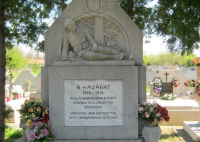 Szeged-Szőreg I. világháborús emlékmű 2011.04.30. küldő-Emese