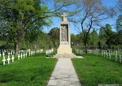 Szeged Szerb temető I. világháborús emlékmű felújítás után 2018.04.22. küldő-Emese (1)