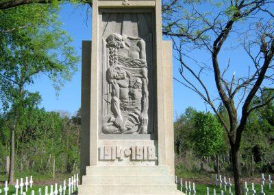 Szeged Szerb temető I. világháborús emlékmű felújítás után 2018.04.22. küldő-Emese (2)
