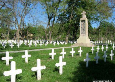 Szeged Szerb temető I. világháborús emlékmű felújítás után 2018.04.22. küldő-Emese (4)