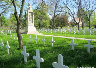 Szeged Szerb temető I. világháborús emlékmű felújítás után 2018.04.22. küldő-Emese