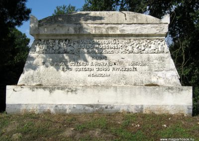 Szeged izraelita temető I. világháborús emlékmű 2014.08.20. küldő-Emese (1)