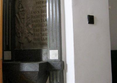 Szeged mentőállomás - volt Tűzoltó laktanya - I. világháborús emléktábla 2014.08.16. küldő-Emese (1)