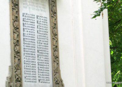 Szeged régi zsinagóga I. világháborús emléktáblák 2014.08.31. küldő-Emese (7)