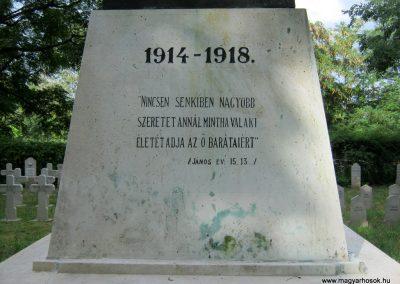 Szeged református temető I. világháborús emlékmű 2014.08.20. küldő-Emese (6)