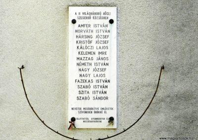 Szegerdő II. világháborús emlékmű 2014.08.31. küldő-Huber Csabáné (1)