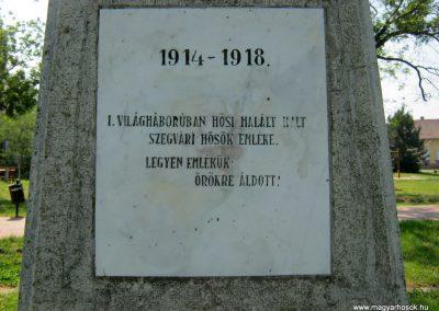 Szegvár I. világháborús emlékmű 2015.06.07. küldő-Emese (5)