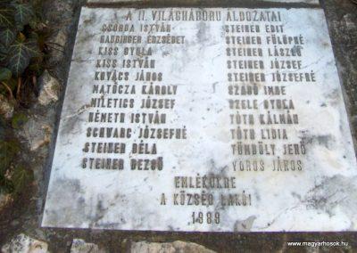 Szeleste - Alsószeleste világháborús emlékmű 2009.01.07. küldő-gyurkusz (4)