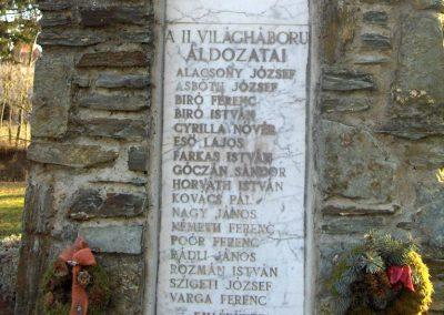 Szeleste - Felsőszeleste világháborús emlékmű 2009.01.07. küldő-gyurkusz (3)