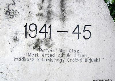 Szendehely II. világháborús emlékmű 2012.07.11. küldő-kalyhas (10)