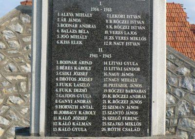 Szendrőlád világháborús emlékmű 2009.07.27.küldő-Gombóc Arthur (1)