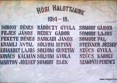 Szentantalfa világháborús emléktáblák 2010.08.12. küldő-Csiszár Lehel (2)
