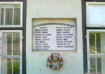 Szentantalfa világháborús emléktáblák 2010.08.12. küldő-Csiszár Lehel (3)