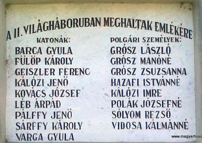 Szentantalfa világháborús emléktáblák 2010.08.12. küldő-Csiszár Lehel (4)