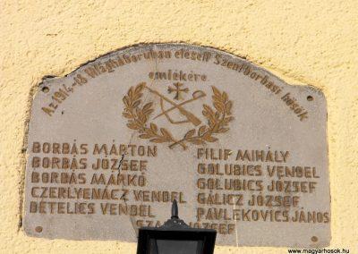 Szentborbás világháborús emléktáblák 2012.08.01. küldő-KRySZ (2)