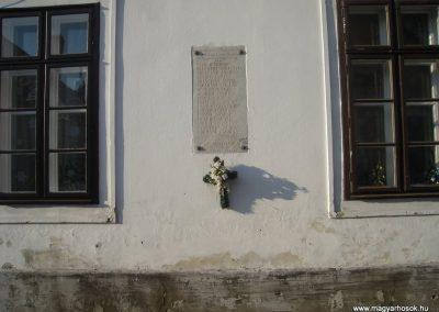 Szentendre I.vh emléktábla 2009.01.09. küldő-Huszár Peti