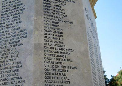 Szentes Erzsébet tér felújított I. világháborús emlékmű 2018.09.18. küldő-Bali Emese (10)