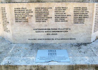 Szentes Erzsébet tér felújított I. világháborús emlékmű 2018.09.18. küldő-Bali Emese (18)