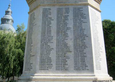 Szentes Erzsébet tér felújított I. világháborús emlékmű 2018.09.18. küldő-Bali Emese (3)