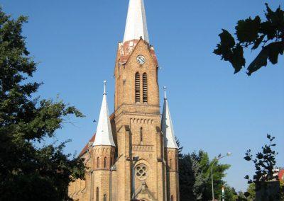 Szentes Evangélikus templom I. világháborús emléktábla, keretét Koncz Antal szobrászművész készítette. 2012.09.23. küldő-Emese