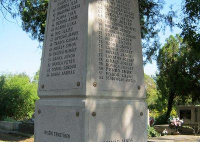 Szentes Kálvária temető I. világháborús emlékmű és sírok 2018.09.18. küldő-Bali Emese (12)
