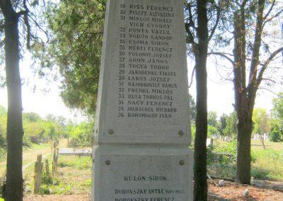 Szentes Kálvária temető I. világháborús emlékmű és sírok 2018.09.18. küldő-Bali Emese (5)