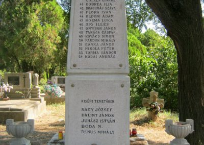 Szentes Kálvária temető I. világháborús emlékmű és sírok 2018.09.18. küldő-Bali Emese (8)
