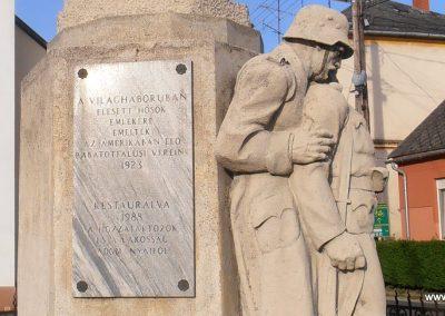 Szentgotthárd-Rábatótfalu I. világháborús emlékmű 2015.04.25. küldő-Bagoly András (5)