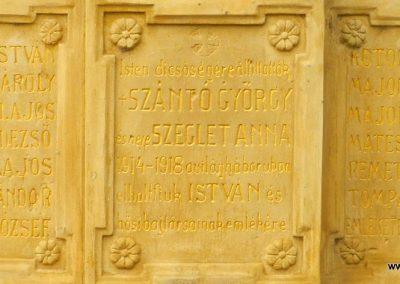 Szentgyörgyvár I. világháborús emlékmű 2017.10.08. küldő-Huber Csabáné (3)