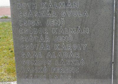 Szentgyörgyvölgy világháborús emlékmű 2009.03.25.küldő-sümec (2)