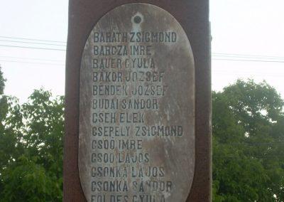 Szentkirályszabadja I.vh emlékmű 2009.05.22.küldő-Magyar Benigna (1)