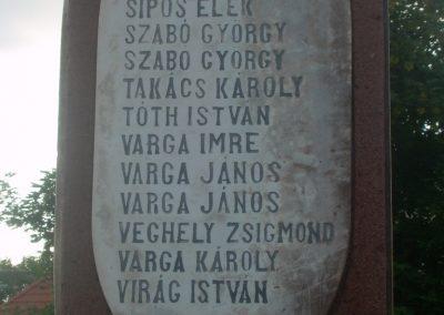 Szentkirályszabadja I.vh emlékmű 2009.05.22.küldő-Magyar Benigna (5)