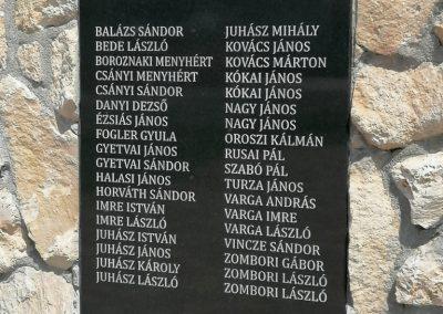 Szentlőrinckáta hősi emlékmű 2019.08.10. küldő-Miklós Béla (6)