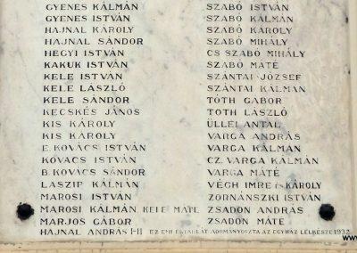 Szentmártonkáta I. világháborús emléktábla 2015.01.17. küldő-kalyhas (3)