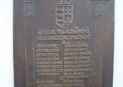 Szentmargitfalva világháborús emlékmű 2009.11.17.küldő-Sümec (3)