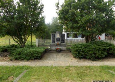 Szentpéterfölde világháborús emlékmű 2016.08.13. küldő-kalyhas