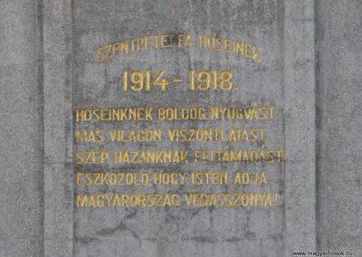 Szentpéterfa világháborús emlékmű 2009.09.02.küldő-Gyurkusz (3)