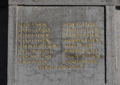 Szentpéterfa világháborús emlékmű 2009.09.02.küldő-Gyurkusz (4)
