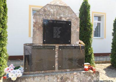 Szentpéterszeg hősi emlékmű 2018.05.28. küldő-Bóta Sándor (2)