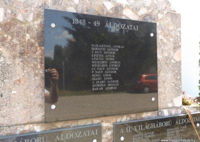 Szentpéterszeg hősi emlékmű 2018.05.28. küldő-Bóta Sándor (4)