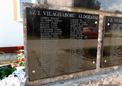 Szentpéterszeg hősi emlékmű 2018.05.28. küldő-Bóta Sándor (5)