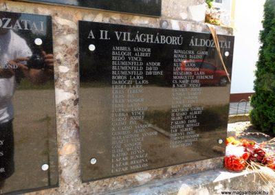Szentpéterszeg hősi emlékmű 2018.05.28. küldő-Bóta Sándor (6)