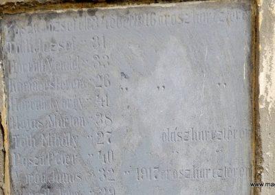 Szenyér I. világháborús emlékmű 2014.10.25. küldő-kalyhas (5)